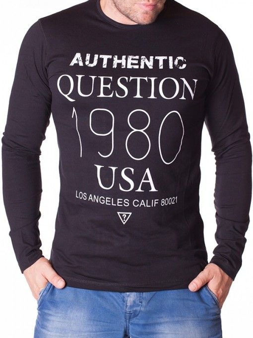 Bluza barbati Aythentic 1980 neagra