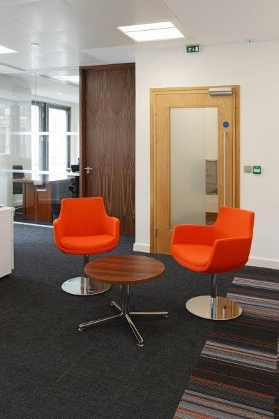 #SeatingArea #BrightSeats #Office #RubiconInteriors