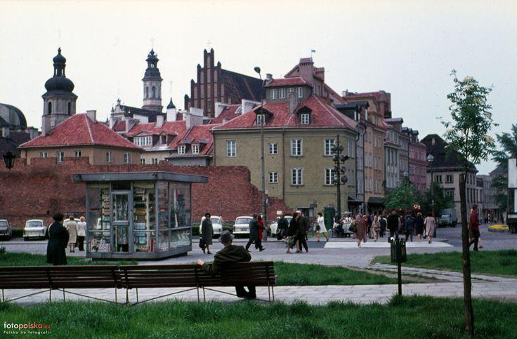 ul. Podwale - pl. Zamkowy, 05.1973. (fot. Helmut Lauterbach)