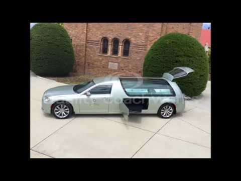 2016 Chrysler 300 Hearse Funeral Car Limo Limousine by Quality Coachworks and Hillier Design - YouTube