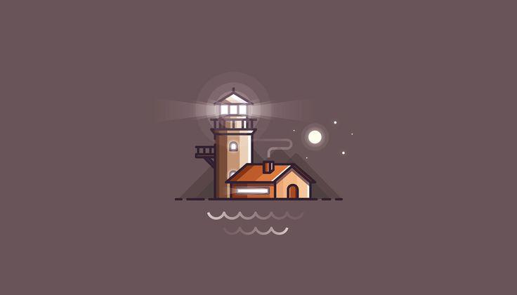 Midnight illustrations on Behance