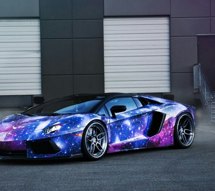 18 best images about Galaxy painted cars on Pinterest   Cars, Sweet cars and Lamborghini photos