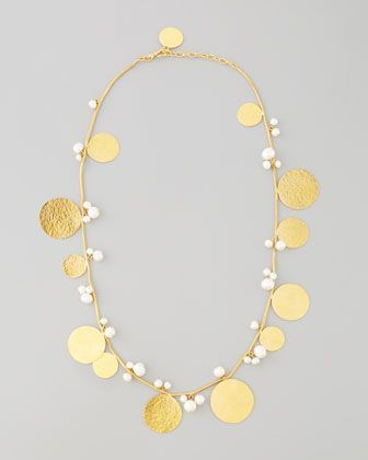 Pastilles Pearl Necklace by Herve Van Der Straeten at Neiman Marcus.
