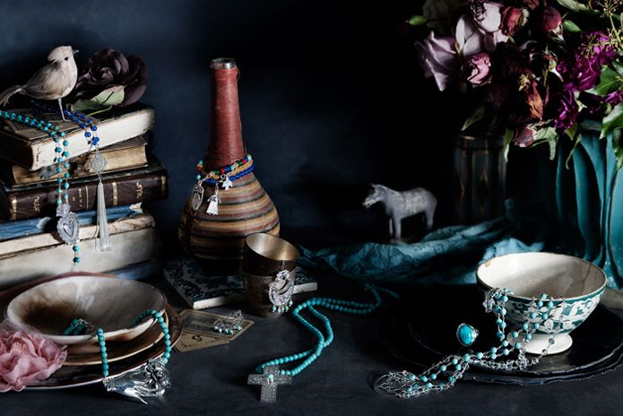 Najo Jewellery. Brand created by Truly Deeply.