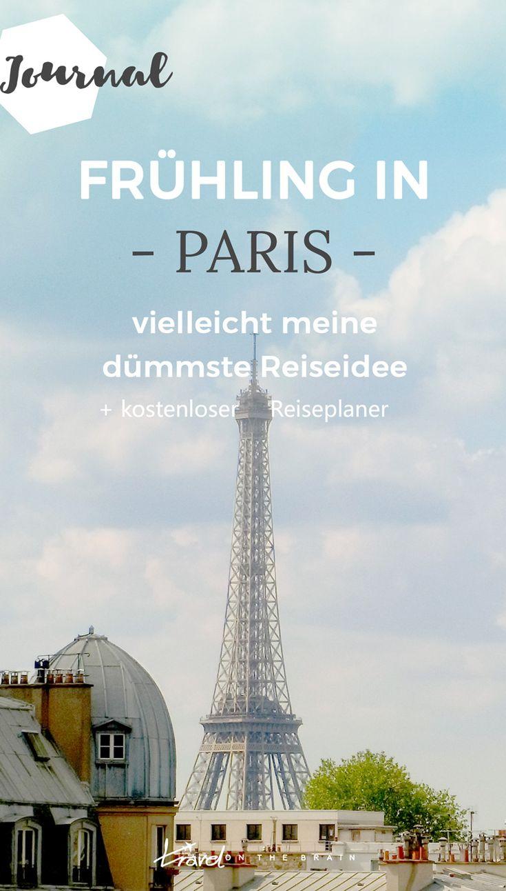 Frühling in Paris - recht überlaufen