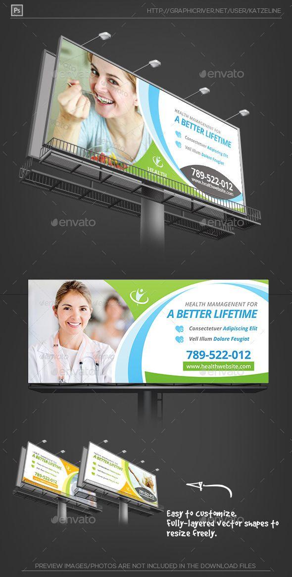 Health Medical Care - Billboard Outdoor Template