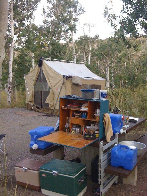 152 Best Camp Kitchen Grub Box Chuck Images On