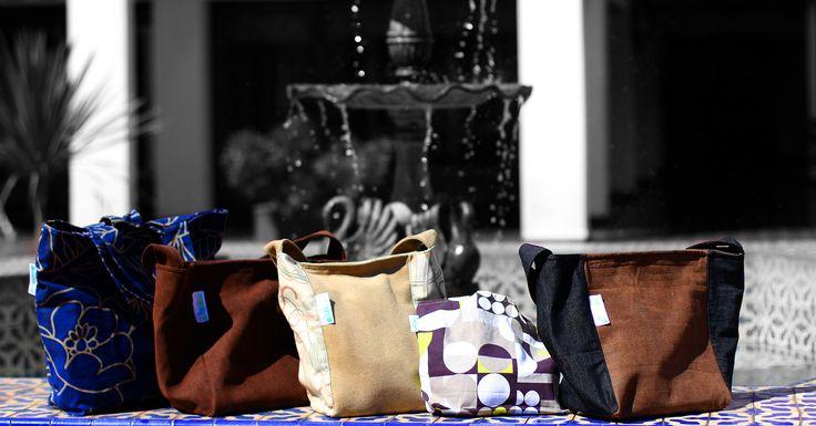 Bolsas de tela especial para llevar la colación