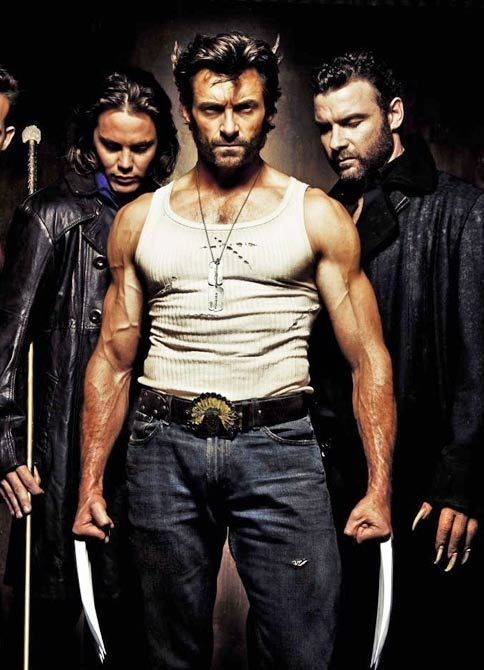 Hugh Jackman as the Wolverine