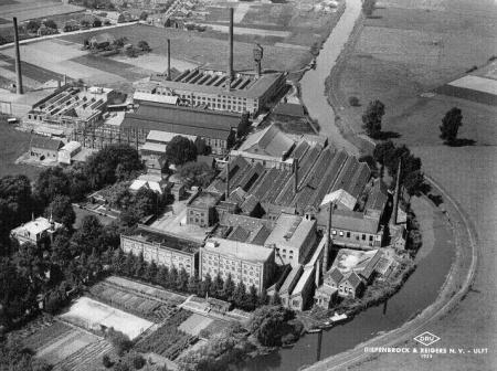 DRU Industriepark van boven