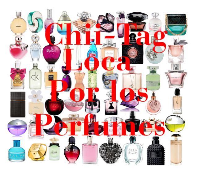 La Piecita de Chivi :  Tag Loca por los Perfumes / Colección de Perfumes...