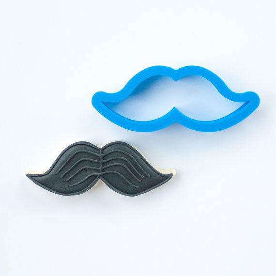 Mustache Cookie Cutter  Valentines Cookie Cutter  Mini