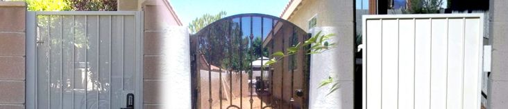 RV GATES/DOUBLE SIDE YARD GATES #StrictlyDoorsandGates  #LASVEGAS