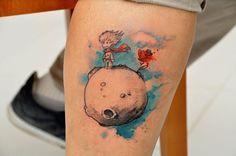 raposa pequeno principe tattoo - Pesquisa Google
