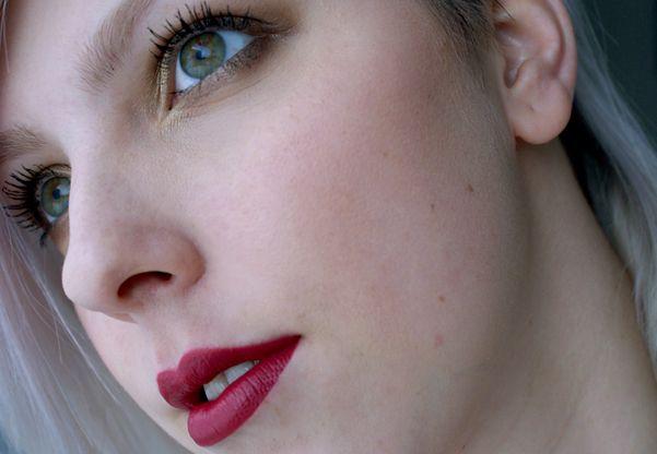 Dnešní Makeup: Striking Merlot