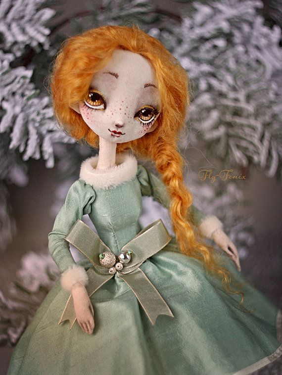 Hey, I found this really awesome Etsy listing at https://www.etsy.com/ru/listing/219675284/cloth-doll-ginger-ooak-art-doll-handmade