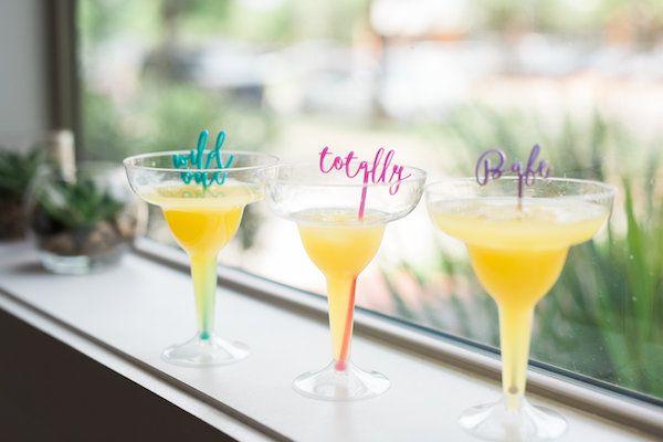Sassy Stir Sticks  Photography: Shay & Olive | Stir Sticks: The Roc Shop | Styling + Florals: Celebrate Colorfully | Venue: The Coterie