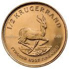 ♦Ð Random Date South Africa 1/2 Troy Oz Gold 1/2 Krugerrand Coin SKU33751 http://ebay.to/2yzVfU4