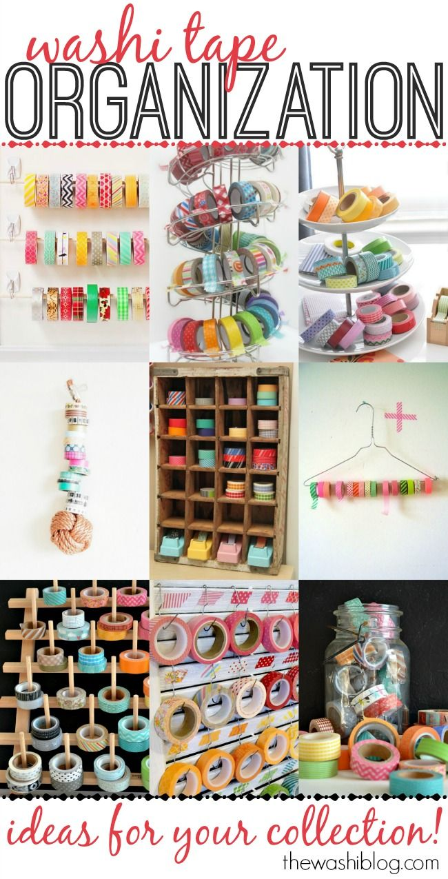 Washi Tape Organization Ideas - The Washi Blog