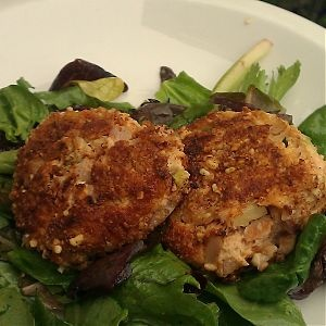Baked Paleo Clam Cakes