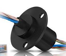 Capsule slip ring for 16mm diameter has the main feature of compact design. Continuous transmission of signal and/or data under 360 degree unrestrained rotation for this slip ring is optional.