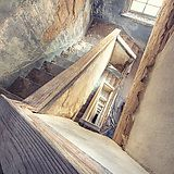 Staircase in Baker Hotel - Mineral Wells, TX