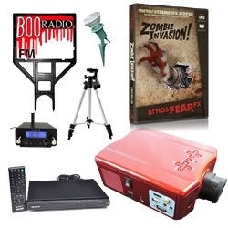 halloween projector videos free