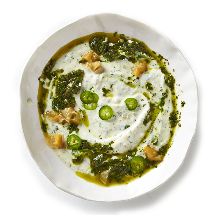 Herbed Labneh with Preserved Lemon Recipe - Bon Appétit