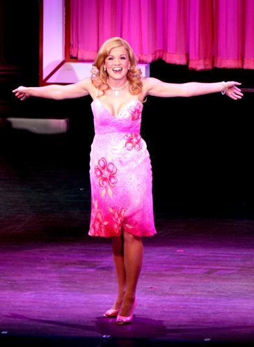 Becky Gulsvig plays Elle Woods and never fails to charm in the musical Legally Blonde,