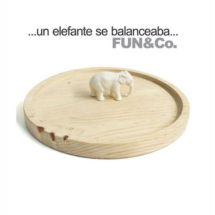 Elegantes Elefantes en tu mesa... Solo con FUN&Co. #diseño #fantastico #increible #enamorador