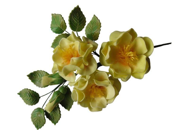 Gum Paste Sugar Open Rose  #sugarflowers #sugarart #sugarcraft #cakeart #cakedecorating #sugarflower #cakeartist #sugarpaste #sugarartist #gumpaste