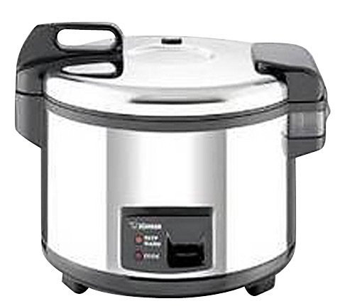20 Cup Commercial Rice Cooker & Warmer, Stainless - casa.com
