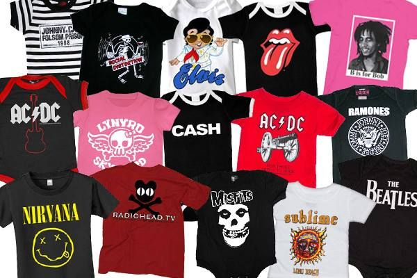 9bcc03782 Pin by My Baby Rocks on Baby Band Merch | Punk baby, Band, Band shirts