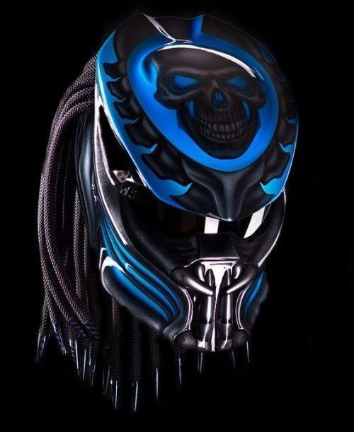 PREDATOR HELMET STREER FIGHTER DOT APPROVED SIZE S, M, L, XL, #CellosHelmet #Helmet