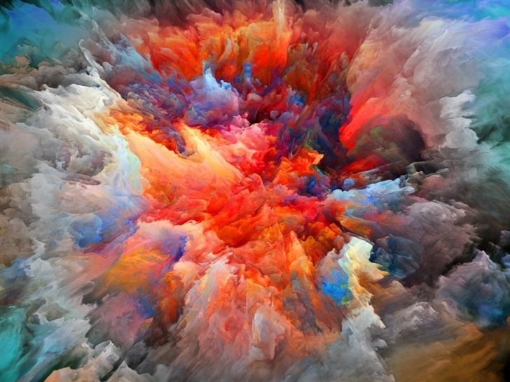 Explosion Of Colors Mac Wallpaper Download | Free Mac Wallpapers Download