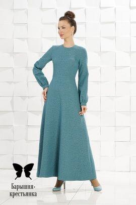 Классические платья из натуральных тканей - магазин православного платья  Барышня-крестьянка 8643443332e