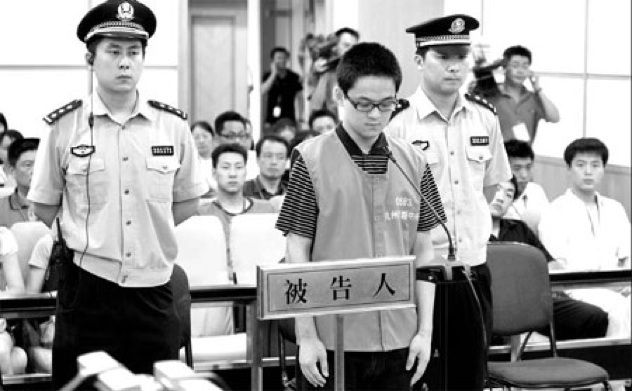"""In China, if you have money & a little clout, you can send someone else to prison in your place. Authorities have vigorously denied this but the """"body doubles"""" don't even closely resemble the accused, facial recognition software has proven it. The practice of hiring someone else to stand trial and serve your prison sentence is called """"ding zui"""" or """"substitute criminal""""."""