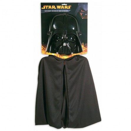 Adults Darth Vader Mask & Cape
