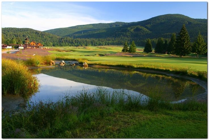Golf playground Gray Bear Tale near Hotel Kaskady   #luxury #holiday #hotel #kaskady #golf #Slovakia    www.tale.sk, www.miceslovakia.com