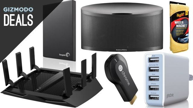 The Fastest Router You Can Buy, Chargers for Anything, and More Deals