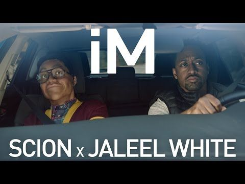 Weird Scion ad has Jaleel White driving with Steve Urkel wax figure |