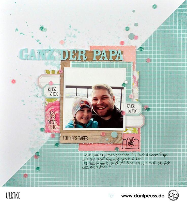 Layout von Ulrike für www.danipeuss.de #danipeuss #klartextstempel
