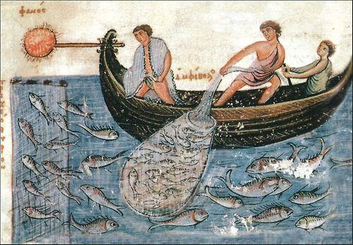 Fishermen Of The Byzantine Empire  Codex Skylitzes