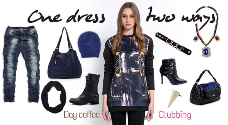 One dress, two ways by Fullah Sugah  fullahsugah.gr/ | #Fashion #Combinations #InspireMe #FullahSugah
