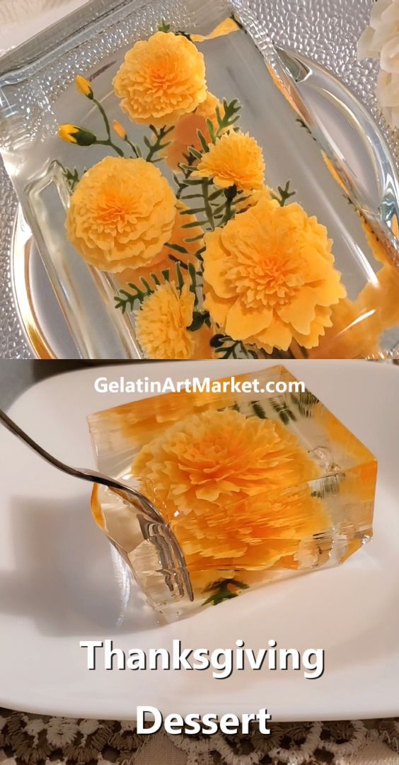 Thanksgiving Dessert Jelly – Gelatin Art