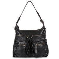 Depeche - Casual Chic Bag 11614 - Black www.madamechic.dk/shop/crossover-tasker-131c1.html