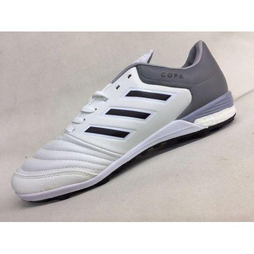 Chuteira Society Adidas - Chuteira Society Adidas Copa Tango 17.1 IN Branco Cinzento Desconto