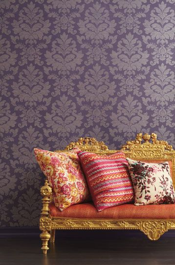 Silk Road Damask