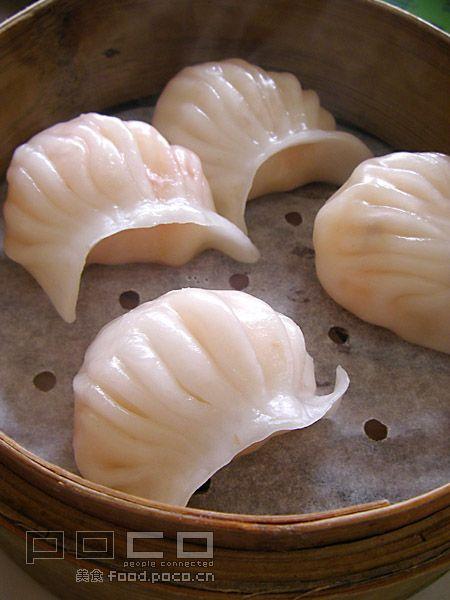 Прозрачные пельмени с креветками приготовленные на пару - Китайская кухня