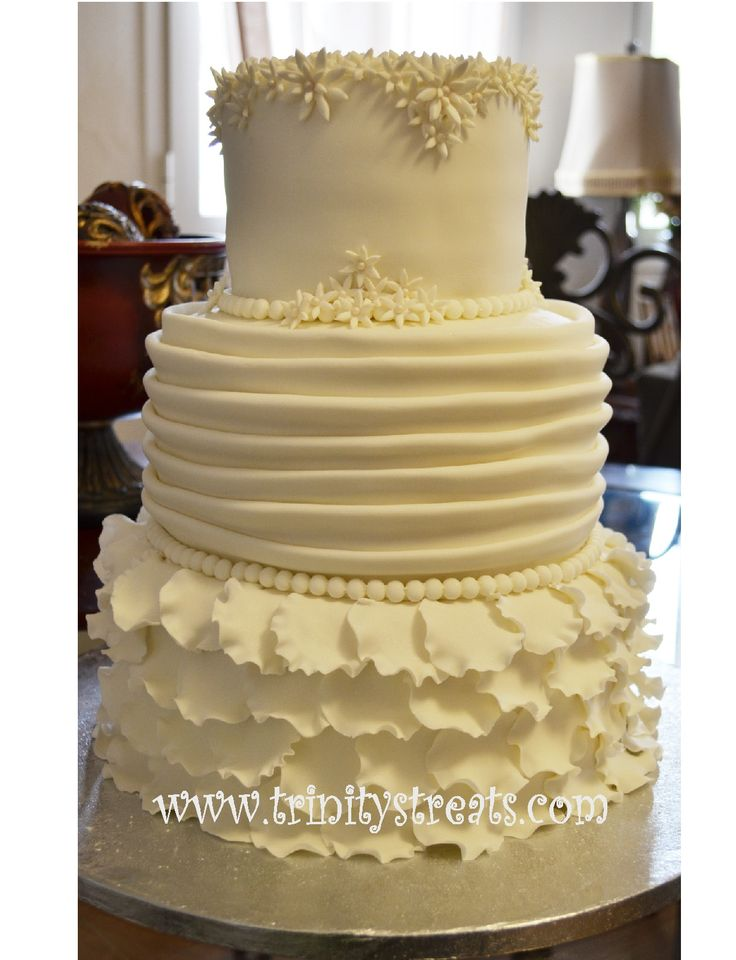 Pleats On A Cake